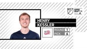 Henry Kessler Selected to New England Revolution